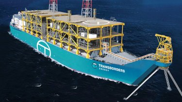 Transborders Energy's proposed $1.6b floating LNG facility that will be used to unlock WA's gas assets.