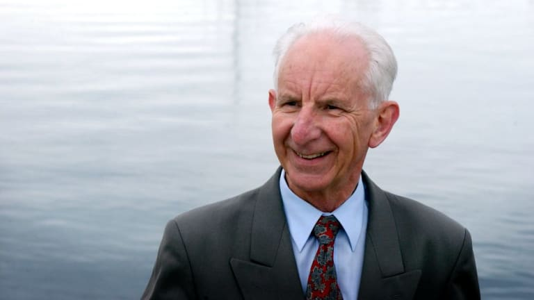 Keating says he enlisted Tasmanian independent senator Brian Harradine to thwart cross-media ownership.