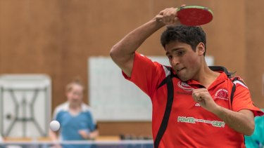 Canberra table tennis player Rohan Dhooria is aiming high.
