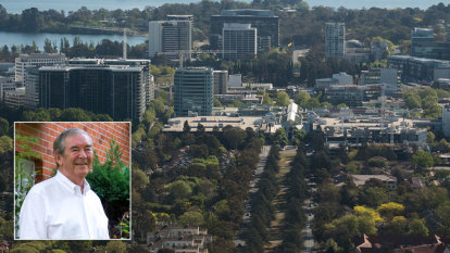'One of those low points': Roger Pegrum on Canberra's modern buildings