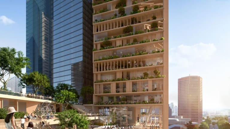 Australia's Cox Architecture and Dutch firm UNStudio beat six other teams to win a global architecture competition to design the precinct.