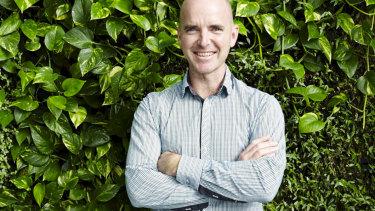 Managing director of Sydney business Junglefy, Jock Gammon.