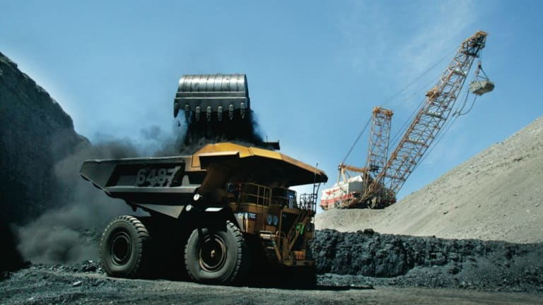 Coal's rise comes despite growing public opinion against the mineral.