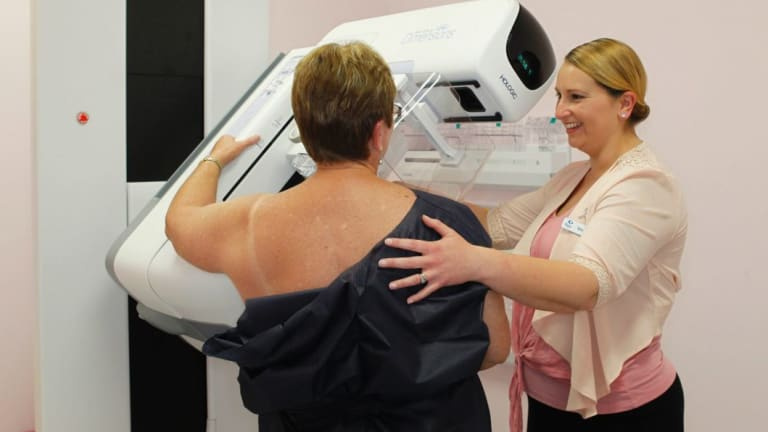 Breast cancer diagnostics - including 3D mammography - hav improved over the years picking up smaller growths earlier.