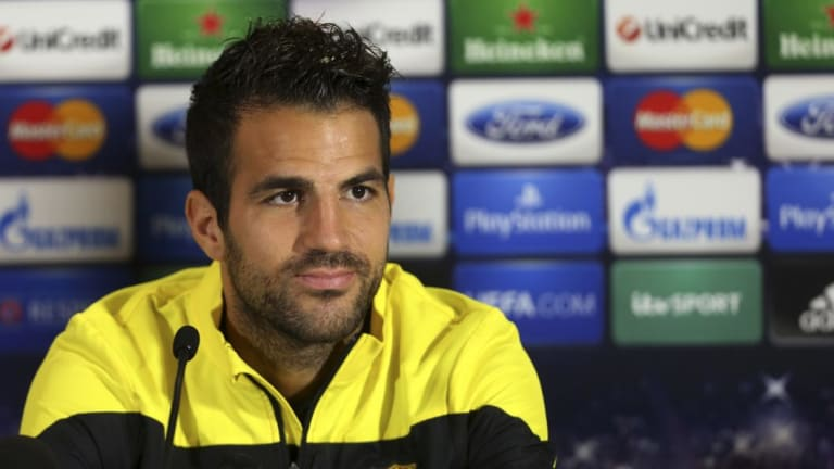 Changing landscape: The ability of clubs to recruit teenage players, like Arsenal did with Cesc Fabregas, might be a thing of the past.