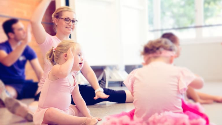 The Tippy Toe Co provides dancing classes for children with disabilities.