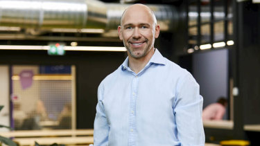 Tim Reed will step down as chief of MYOB in September.