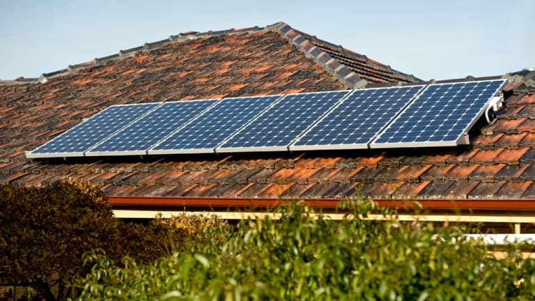 Solar panels - every home should have some.