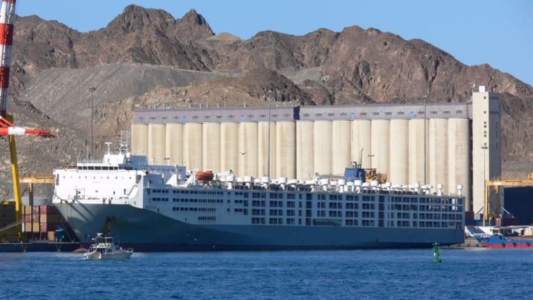 Death ship: The live export ship  Maysora.