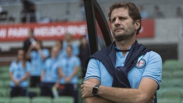 Leading option: Melbourne City women's coach, Joe Montemurro was linked to the Matildas job but is staying at Arsenal.