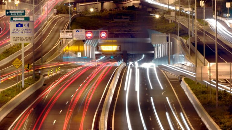 Transurban has a stranglehold on Sydney's growing labyrinth of toll roads such as the Lane Cove Tunnel.