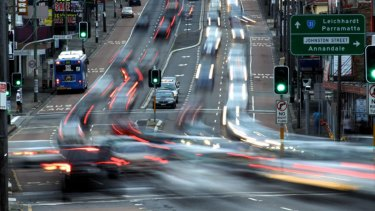 As Sydney's population grows, the pressure on roads and other infrastructure increases.