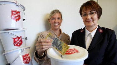 The Salvation Army is calling on the Australian public to give generously to this weekend's Red Shield Appeal,
