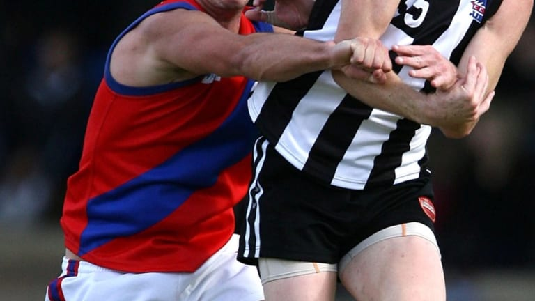 The red-and-blue Falcons have a long history in the WA Football League. Now the club has called in administrators.