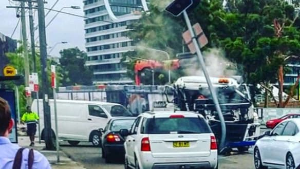 Speed limit to be lowered at Sydney's Green Square after truck crash