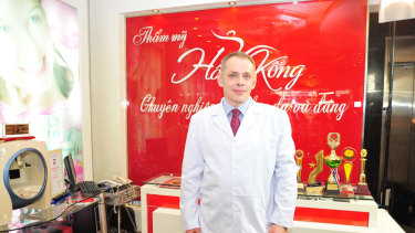 Boris Kunsevitsky worked in Asia for a medical supplies company.