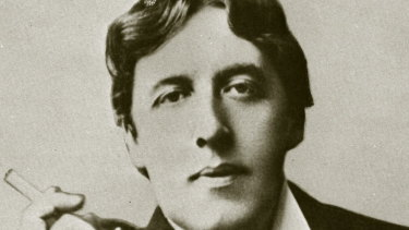 Oscar Wilde in an undated photograph