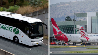 How Murrays buses are saving Canberra airport from more scrutiny