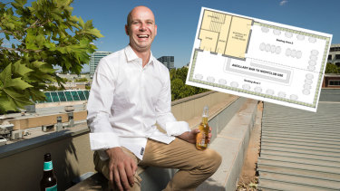 The owners of the Hopscotch bar in the city have applied to open a rooftop bar in Garema Place.