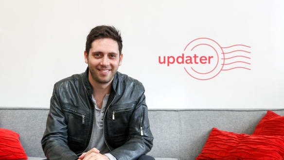 Investors stick with Updater as it posts strong growth