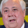 'Those answers are made up': Clive Palmer grilled in Twisted Sister case