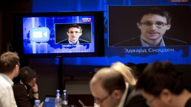 Edward Snowden now lives in Russia.