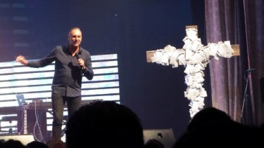 Hillsong preacher Brian Houston fell out with Folau.