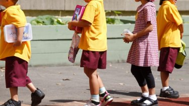 Schools across Sydney reported 25 per cent drops in attendance on Monday.