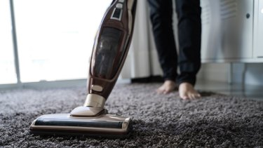 Invest in a vacuum cleaner with a HEPA filter.