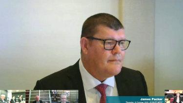 James Packer a témoigné lors de l'enquête NSW sur Crown Resorts, mais d'où?