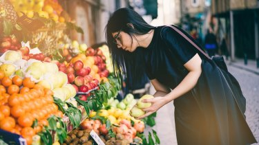 Shopping locally reduces your food mile footprint.