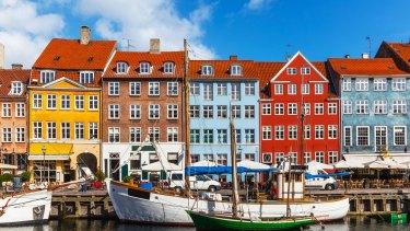 Rates pretty well. Copenhagen, Denmark.