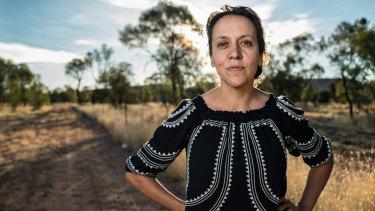 Director Rachel Perkins in Alice Springs.