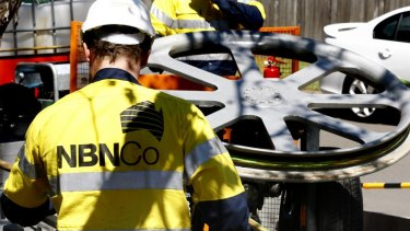 "The report commissioned by the NBN  Co found the rollout has helped bring three quarters of Australian small businesses ""within reach of a high-speed fixed line broadband connection"" over the past five years/"