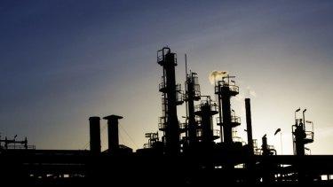 ExxonMobil's refinery in Altona provides around half of Victoria's refined fuel needs.