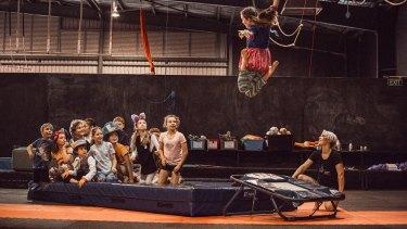 Flipside Circus.