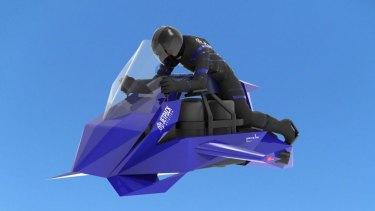 The Speeder is set to go on sale next year.