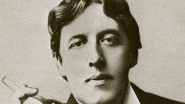 Oscar Wilde in an undated photograph
