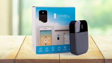 The Sensibo Sky lets you operate your air conditioner even when you're not at home.