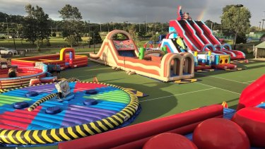 Inflatable Fun Park.