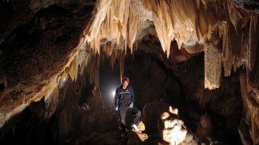 Light at the end of the tunnel: heritage-listed caves won't be flooded after the government changes tack.