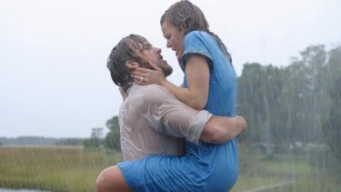 Noah (Ryan Gosling) used some extreme dating tactics to win Allie (Rachel McAdams) in The Notebook.