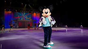 Disney On Ice celebrates Mickey and Friends.