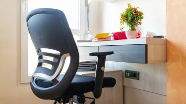 Protect your posture and back with an ergonomic chair.