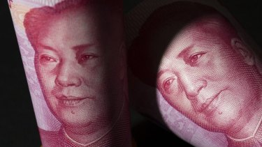 One-hundred yuan notes: It's the first time that China has officially been labelled a currency manipulator in more than two decades.