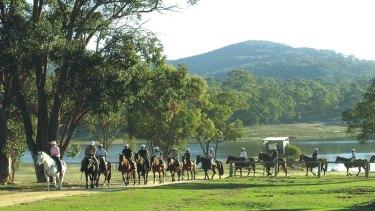Cherrabah Resort, 140 kilometres south-west of Brisbane.
