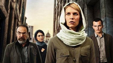 Publicity shot from season 4 of the just-concluded Homeland