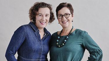 Sarah Macdonald and Cathy Wilcox.