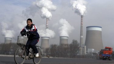 Big ramp-up: A coal-fired power plant in Shanxi province, China.