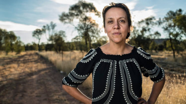 Director Rachel Perkins in Alice Springs.